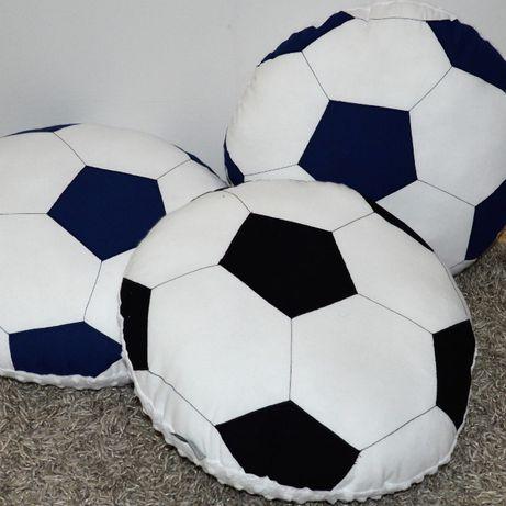 Poduszka Dekoracyjna Piłka Piłkarz Hand Made Rękodzieło Przytulanka