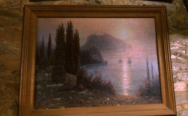Продам картину в дерев'яній рамі, не відомого автора