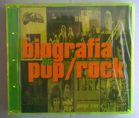 CD duplo Biografia do Pop/Rock - Vários
