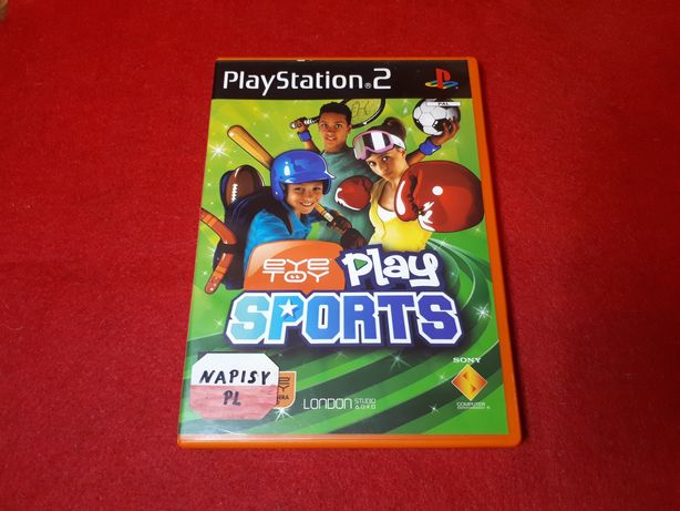 Eye Toy Play Sports polska wersja językowa Playstation2