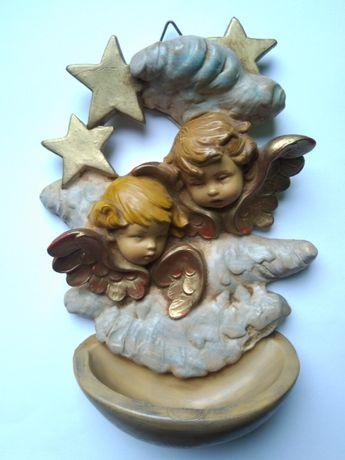 kropielniczka z aniołkami