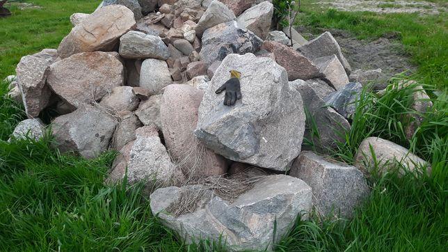 Kamień polny otoczak na rabatę, klomb