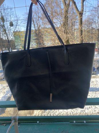 Czarna torebka H&M A4