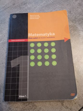 Matematyka zbiór zadań klasa 1