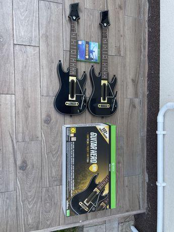 Guitar Hero Live Xbox One - komplet z dwiema gitarami