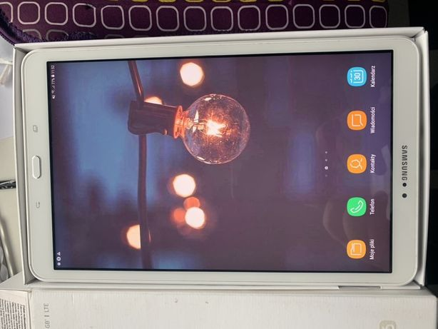 """Samsung Galaxy Tab A6 16GB LTE 10.1"""" SM-T585 + etui"""