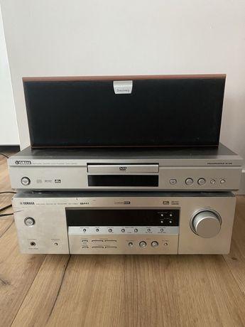 Kino domowe Yamaha AX-V350 + glosniki Discovery +DVD
