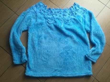 Bluzka,sweter błękitny misiek 48