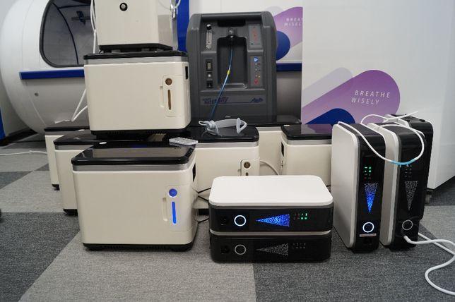 Koncentrator tlenu 7L/min aparat tlenowy wynajem, wypożyczenie Poznań