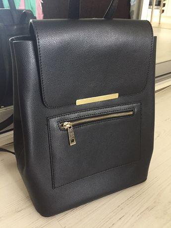 Шикарный кожаный рюкзак Италия