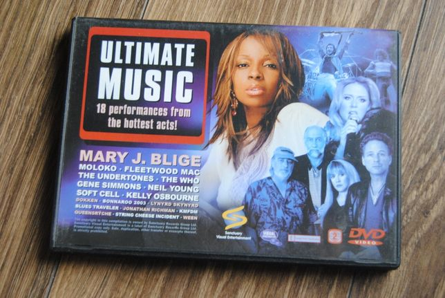 Ultimate Music*18 performances from the hottest acts/DVD