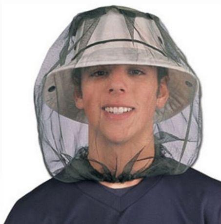 MOSKITIERA siatka przeciw komarom i innym owadom na głowę