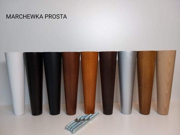 Nóżki drewniane , nogi meblowe , toczenie w drewnie