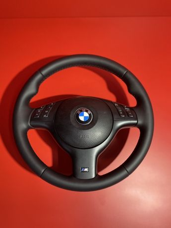 М руль БМВ Е46 Е39 рестайлінг кожа ідеал кермо мультируль BMW E39 E46