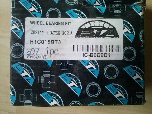 Zestaw łożysk koła BTA H1C015BTA