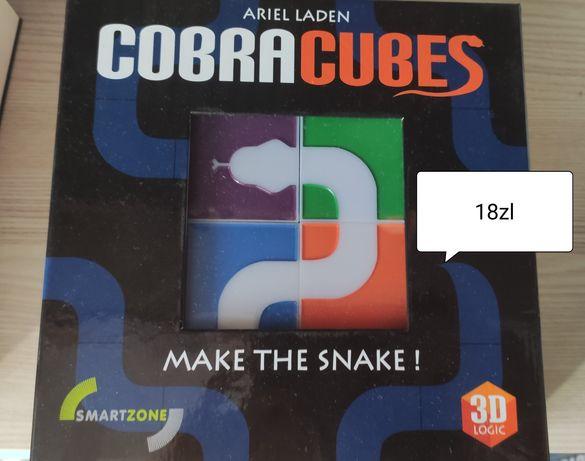 Gra 3d cobra cubes