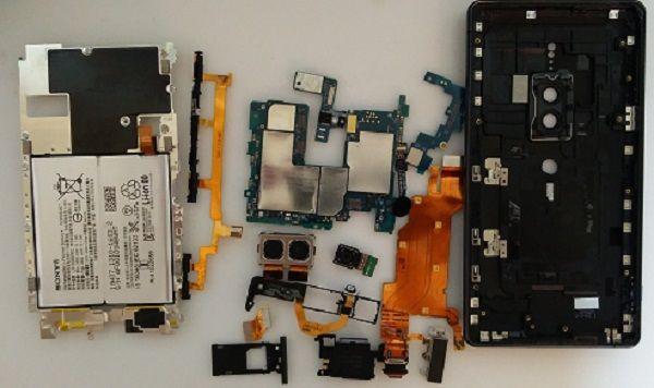 Sony XZ2 Premium H8166 Запчасти