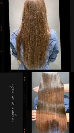 Кератиновое выпрямление, восстановление волос, Осокорки, позняки