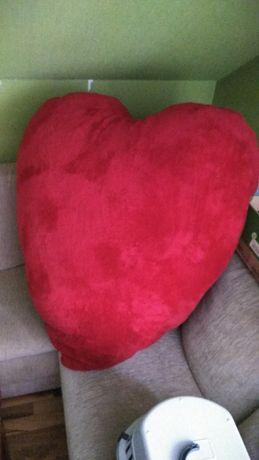 Duża poduszka serce xxl Walentynki