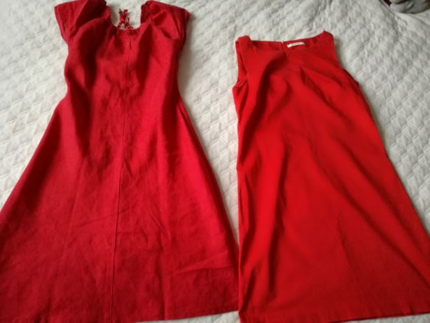 Dwie czerwone sukienki 36