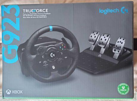 Volante Logitech G923 (SELADO)  (Versão Xbox/PC)