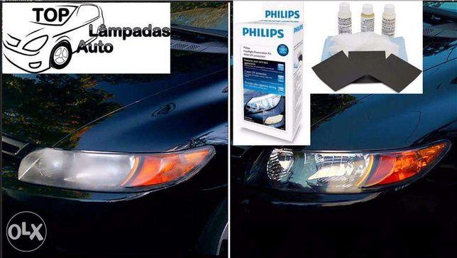 Philips Kit de Restauro e Limpeza de Óticas - Portes Grátis