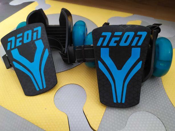 6 lat +   rolki zakładane na buty Yvolution USA Neon Street Rollers