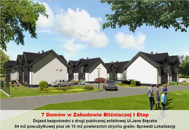 Nowe Domy w Cenie Mieszkań !!!