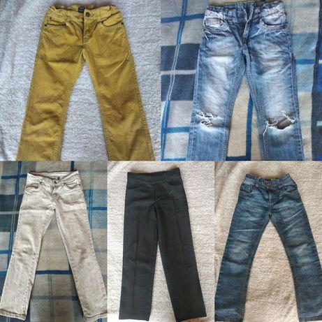 Джинсы брюки на мальчика 7-9 лет
