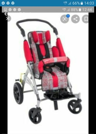 Wózek inwalidzki, specjalistyczny dziecięcy URSUS.
