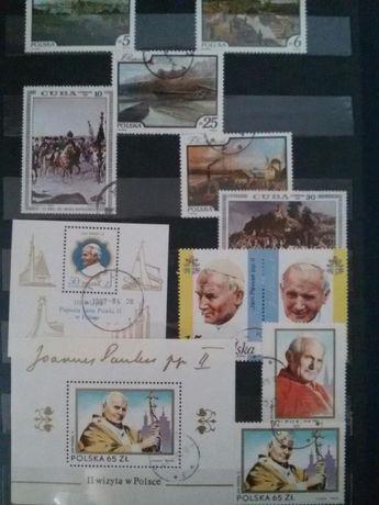 Zamienię lub sprzedam znaczki pocztowe różnego rodzaju polecam