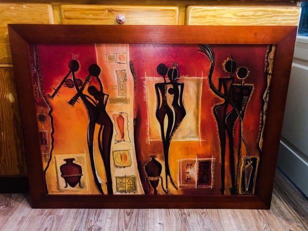 Obraz 113x83 cm. Etno, muzyka, afryka