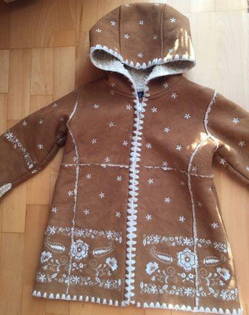 Baby GAP -śliczny kożuszek 18-24m-ce dla małej księżniczki