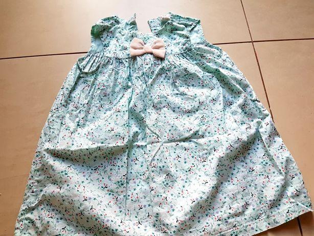 Rozm 86 sukienka dziewczęca H&M
