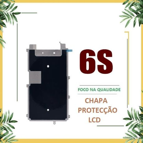 Chapa metálica de protecção do LCD para iPhone 6S