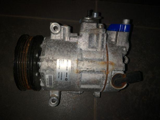 Kompresor klimatyzacji sprężarka Skoda Octavia superb hella 8fk351-921