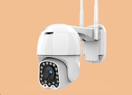 kamera solidna wifi 1080P 4X Zoom sledzenie wlamywacza alarm syrena ip