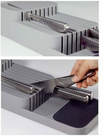 Кухонный органайзер для ножей DrawerStore, лоток для ножей, подставка