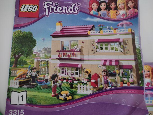 Domek Olivii LEGO Friends stan idealny