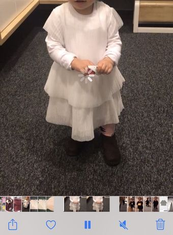Sukienka biala 86