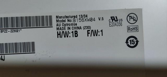матрица 15.6 40 pin slim B156XW04 V 5  700 рублей
