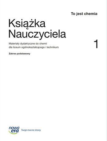 Książka Nauczyciela Chemia  Nowa Era kl 1 liceum nowy program