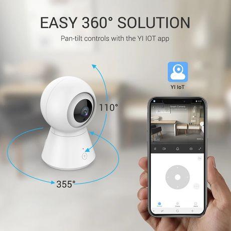 Ip камера Xiaomi YI 1080p 360° Ip camera,  видеоняня