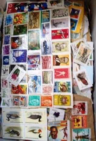 Novas caixas com meio kilo selos.