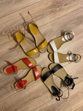 Босоножки кожа 38 39 сандали босоніжки сандалі шкіра шкіряні кожаные