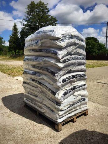 Kora sosnowa ogrodowa Paleta 36 worków 80 litrów / Z dostawą