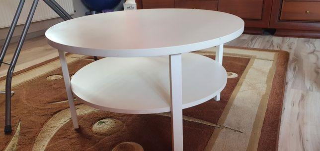 Stolik kawowy biały  81cm