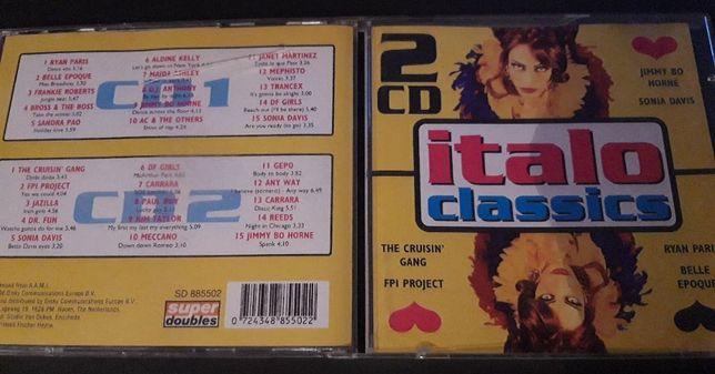 Italo Classics - ITALO DISCO - 1998 , 2 CD , Holandia
