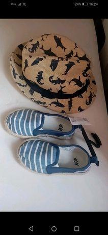 Buty chłopięce espadryle 24 H&M