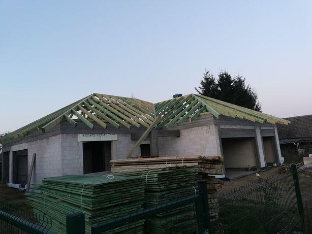Więźby dachowe oraz konstrukcje drewniane